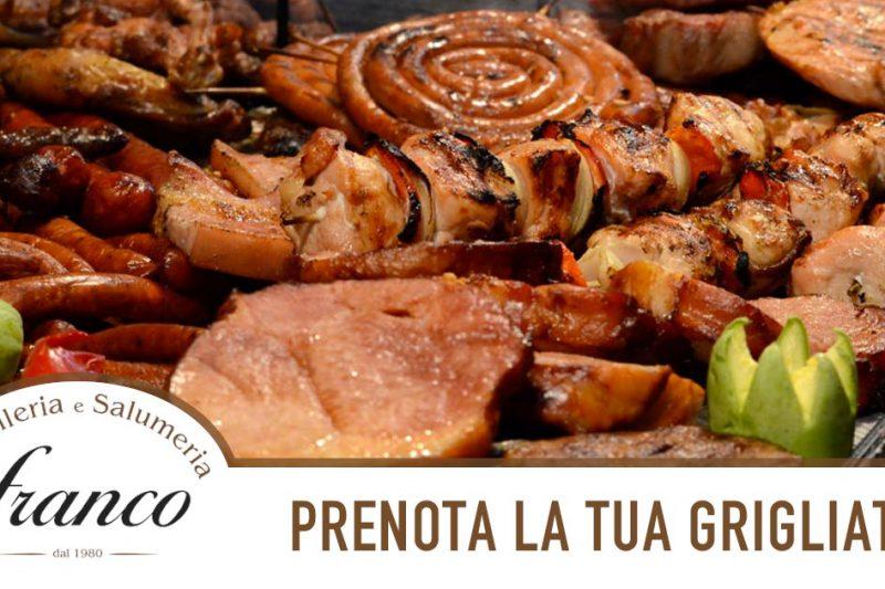 Prenota la Carne per Grigliate della Macelleria Franco