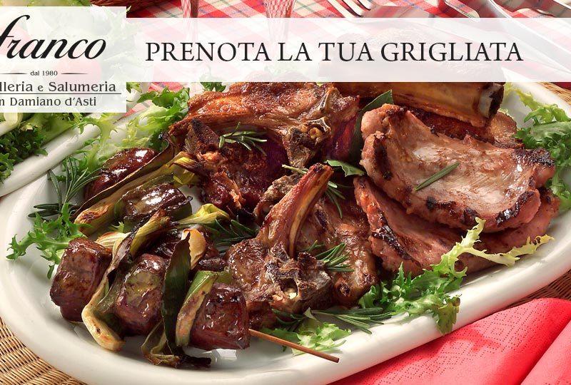 speciale grigliata di pasqua Franco carni salumi macelleria