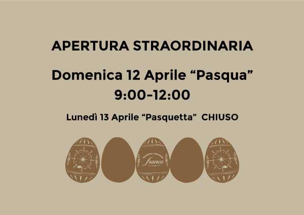 Apertura Macelleria Franco Pasqua 2020