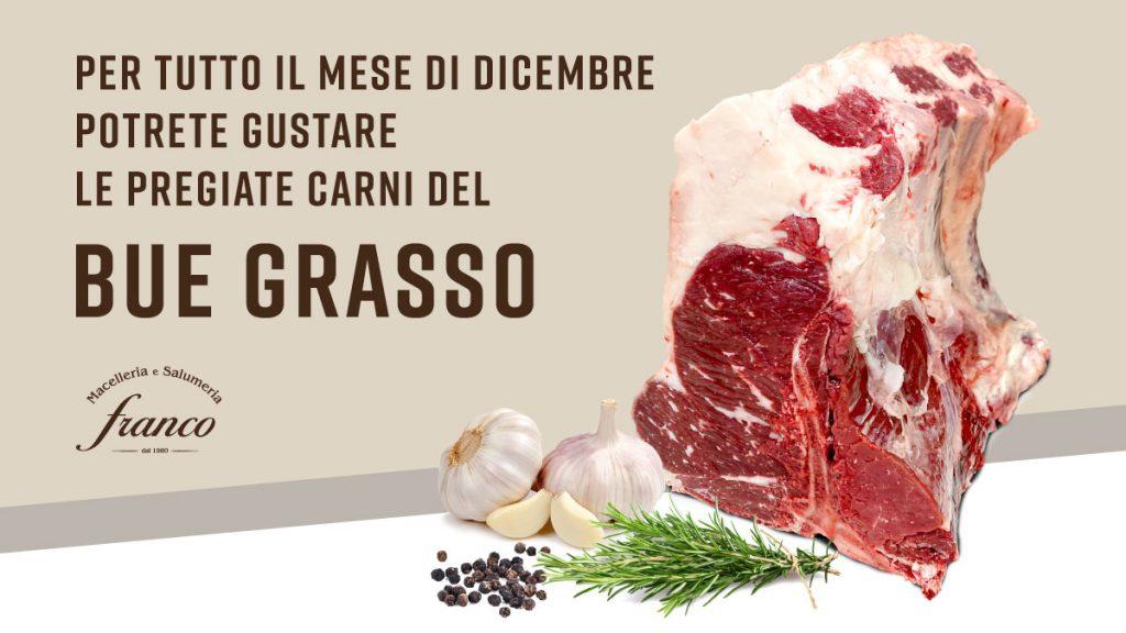 Vendita Bue Grassi le carni pregiate