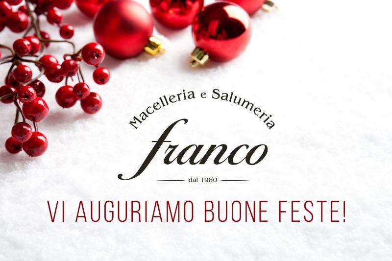 Aperture Dicembre Gennaio Macelleria Franco